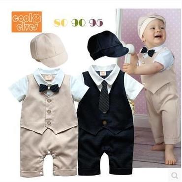 子供用 半袖フォーマル服 スーツ  baby-183