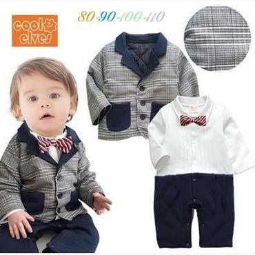 子供用 長袖フォーマル服 タキシード 938-685