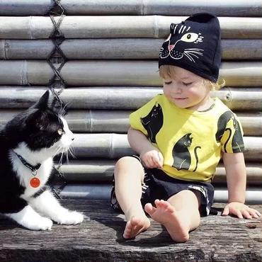 猫 デザイナーズ 帽子