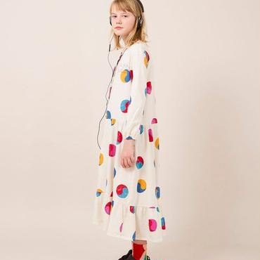 BOBO CHOSES  yin Yang printed dress  ワンピース 定価$230