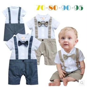 子供用 長袖フォーマル服 タキシード  baby-135