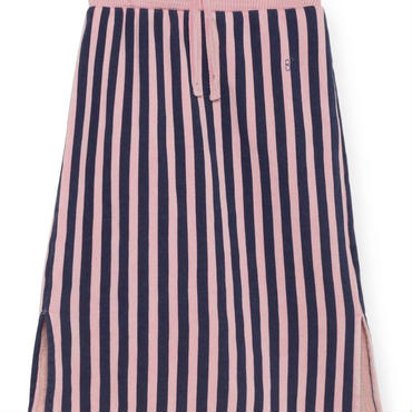 BOBO CHOSES  drawstring striped straight skirt 定価$158