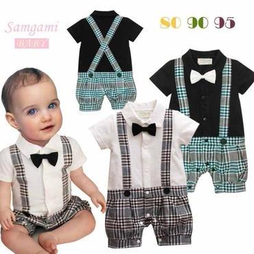 子供用 半袖フォーマル服 タキシード  baby-207