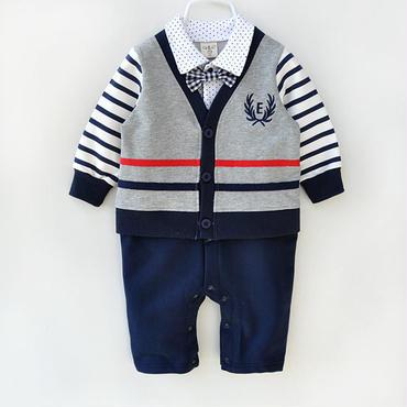 子供用 長袖フォーマル服 スーツタキシード
