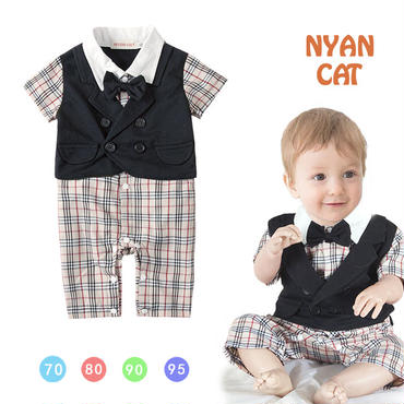 子供用 半袖フォーマル服 タキシード  baby-222