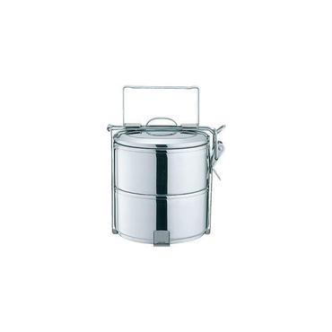 タイ ゼブラ社 ステンレスのお弁当箱 フードキャリア10cm×2段