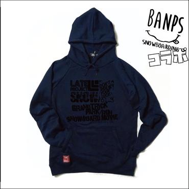 DVDリリース記念『BANPSコラボ・ポケットファスナー付きパーカー』ネイビー×ブラック【限定2着】