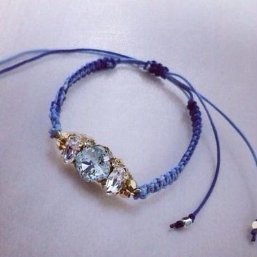 Swarovski bracelet blue