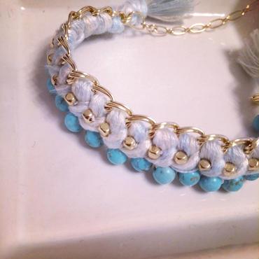 Turquoise chain bracelet