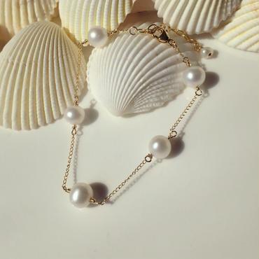5 freshwater pearl bracelet