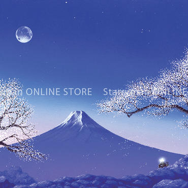 【デジタル版画/B3キャンバス】「祈る星」