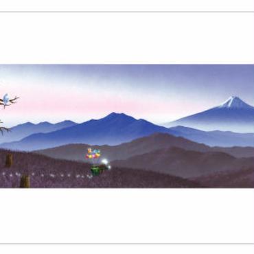 「日本の四季の輝き〜冬〜」和紙ポストカード