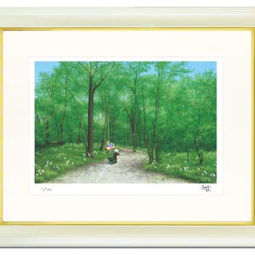 【特別限定3点】「自然と美しく生きるために私たちができること」 講演をつなぐスターリィマン版画作品(ジークレー版画)