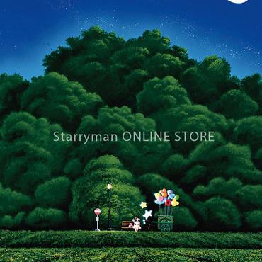 【デジタル版画/B3キャンバス】「星を見つけてください」