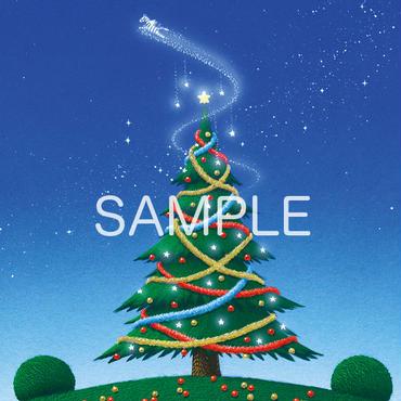 【壁紙/スマートフォン版】「クリスマスツリーをあなたに」
