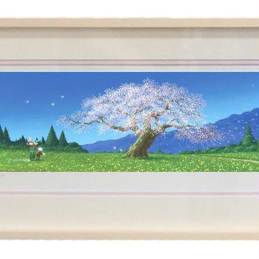 版画「日本の四季の輝き 〜春〜」