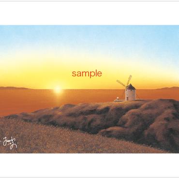 「希望の風」ポストカード