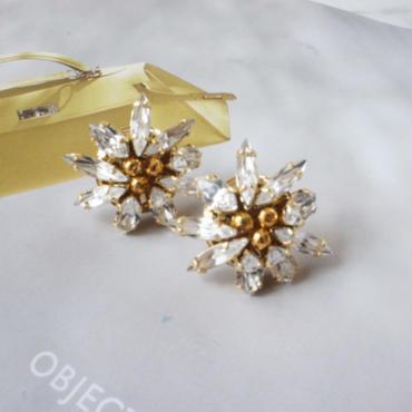 gold bijou pierce,earring