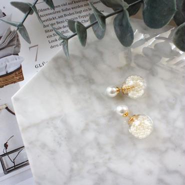 reversible pearl pierce
