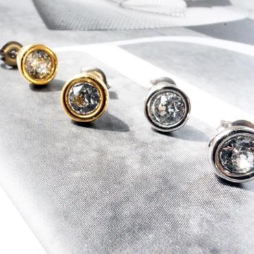 swarovski pierce(2color)