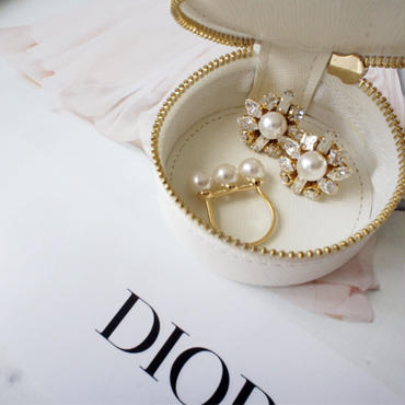 pearl bijou pierce,earring