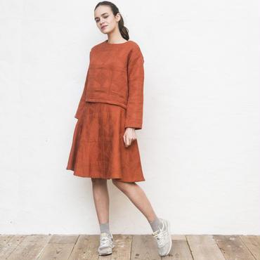 WEB限定【2点SET】ジャガードトップス×スカート