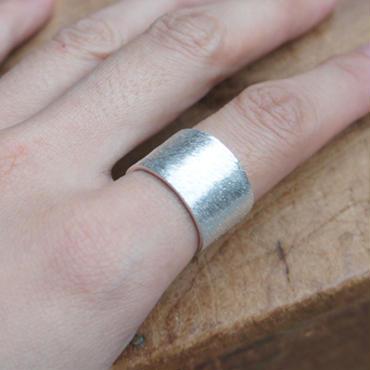 スクラッチリング【L】silver