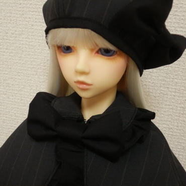 【SD/SD13】ケープ&ワンピースセット ブラック