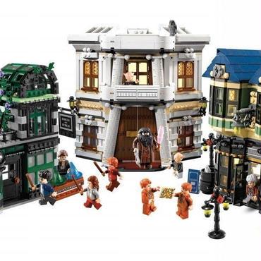 レゴ互換品 ハリーポッター ダイアゴン横丁 LEGO互換