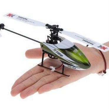 XK Falcon K100-B 6CH 3D 6G System BNF RC Helicopter ヘリコプター ラジコン プロポレス