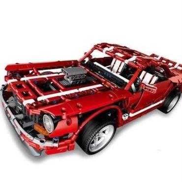 レゴ互換 フォード マスタング 2000ピース マッスルカー ブロックおもちゃ Xingbao moc