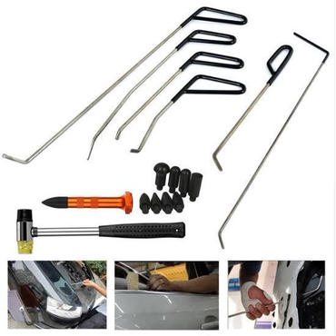 デントツール 自動車 へこみ 修理 ツールキット 凹み リムーバー PDR Pods Tools ロッド 無塗装 補修 板金 工具