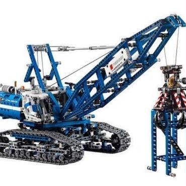 LEPIN レゴ互換 クローラークレーン テクニックシリーズ 42042相当 ブロックおもちゃ 教育おもちゃ