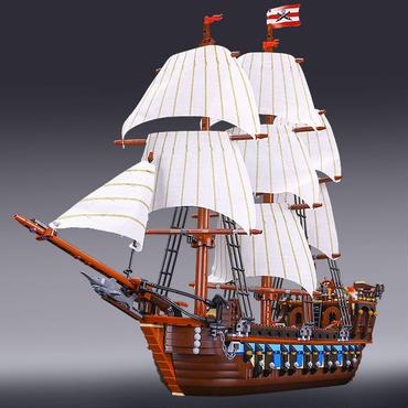 レゴ互換品 豪華帆船!全長75cm巨大! インペリアル フラッグシップ レゴブロック互換 補償付き LEGO互換 残り1点