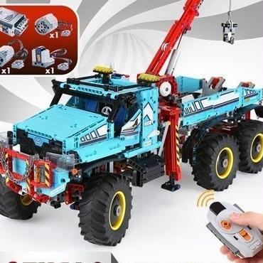 レゴ互換 テクニック 6x6 全地形マグナムレッカー車 42070相当