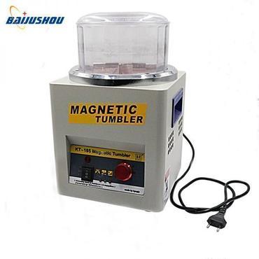 大容量 ハイパワー磁気バレル研磨機 ロータリーバレル ジュエリー アクセサリー 磁気タンブラー ポリッシャー