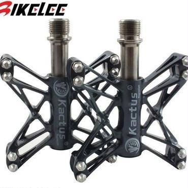 チタン ペダル スピンドル マグネシウム ボディロードバイク クロスバイク ピストバイク 自転車 超軽量 80グラム
