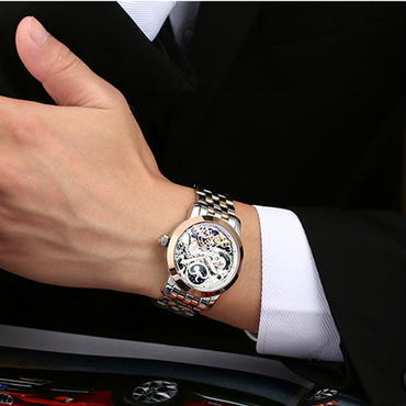 激レアブランド ailang トゥールビヨン メンズ腕時計 海外高級ブランド ゴールド 輸入ブランド品 大人気商品!