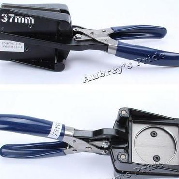 缶バッジマシーン ラウンドカッター 缶バッジマシン 25mm 32mm 37mm 業務用