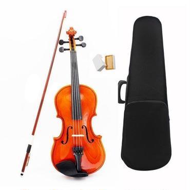 子供 こども用 アコースティック バイオリン ヴァイオリン 1/8 サイズ  ケースセット 弦 弓 木製