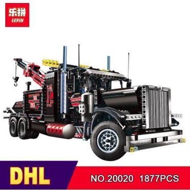 LEPIN テクニック クレーン・トラック 8285相当 ( 海外製品 )◆ レゴブロック 互換 ◆