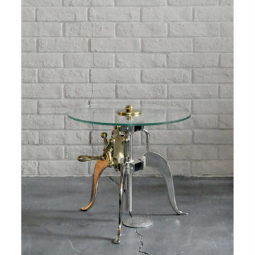 ASPLUND GLASS SIDE TABLE