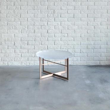 BLEU NATURE STONE TAWA SIDE TABLE  LOW