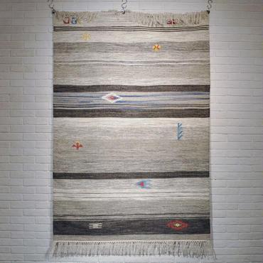 ASPLUND VINTAGE TRIBAL RUG GREY (200x140cm)