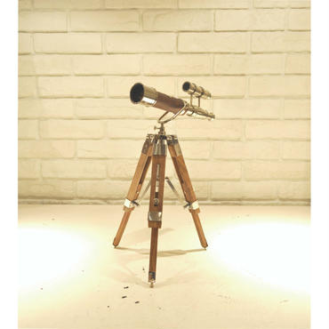 BRASS/WOOD TELESCOPE
