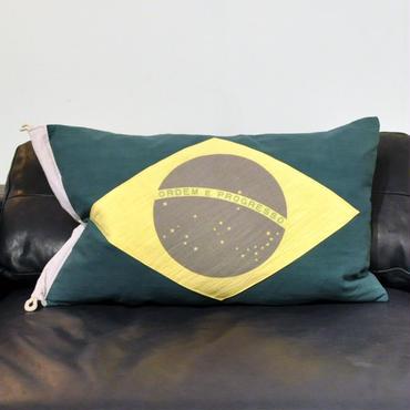 HALO FLAG CUSHION BRAZIL