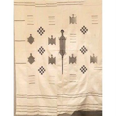 アニマル柄刺子白布 ブルキナファソソ共和国(Burkina Faso)