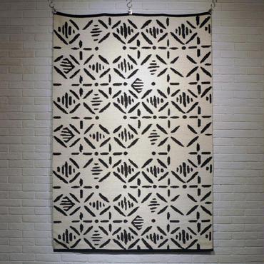 ASPLUND MASHRU RUG BLACK (200x140cm)