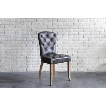 CHESTER CHAIR DESTROYED BLACK & WEATHERED OAK