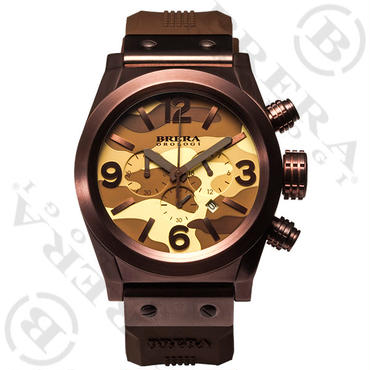 ETERNO CHRONO CAMOUFLAGE BROWN 日本限定 :BRETC4522CM